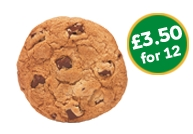 Cookies - £3.50 for 12
