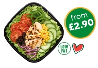 Salads from £2.90