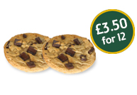 Cookies - £2.99 for 12